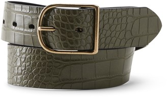 Banana Republic Croc Belt