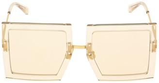 Jacquemus Les Lunettes Carrees Oversize Sunglasses