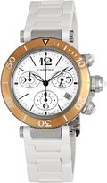 Cartier Women's W3140004 Pasha Rubber Strap Watch