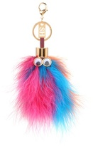 Sophie Hulme Leonard feather key ring
