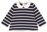 Petit Bateau Baby girls striped blouse