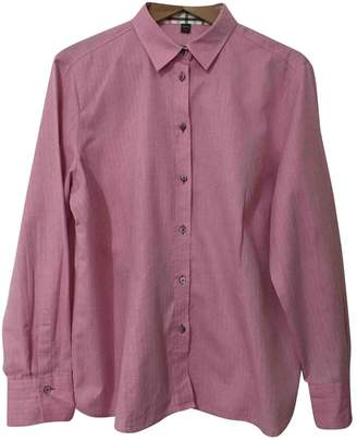 Eterna Pink Cotton Top for Women