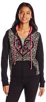 Metal Mulisha Juniors Raylen Zip Fleece Sweatshirt