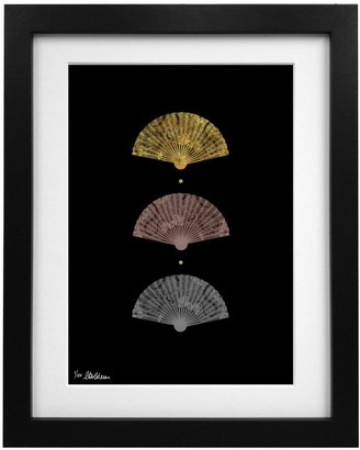 Coleman Louise Limited Edition Silk Fans Art Print