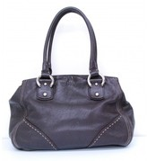 Francesco Biasia very good (VG Brown Leather Hobo Purse Shoulder Handbag Bag