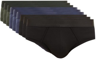 CDLP - Pack Of Nine Stretch-lyocell Jersey Briefs - Mens - Multi