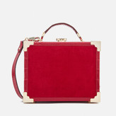 Aspinal of London Women's Mini Trunk Clutch Bag - Scarlet