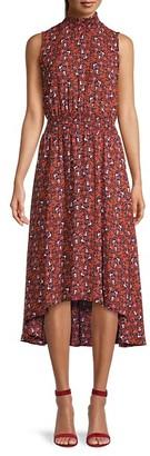 Nanette Nanette Lepore Floral Smocked Blouson Dress