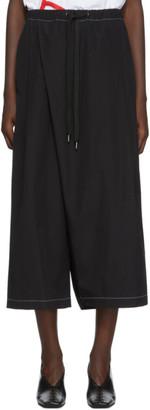 Marni Black Slanted Lounge Pants