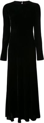 Sies Marjan Josephine velvet cord gown
