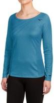 Mizuno Breath Thermo® Body Map Shirt - Crew, Long Sleeve (For Women)