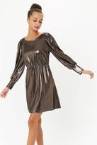 Coast Metallic Jersey Mini Dress