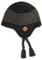 The North Face Boy's 'Snowdoggy' Knit Beanie - Black