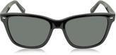 Ermenegildo Zegna EZ0002 01D Black Polarized Men's Sunglasses