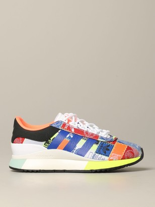 adidas Sl Fashion Sneakers In Printed Canvas