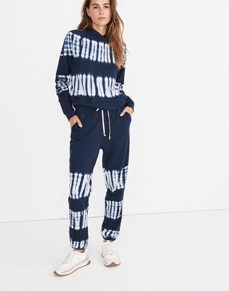Madewell (Re)sourced Cotton Tie-Dye Retro Sweatpants