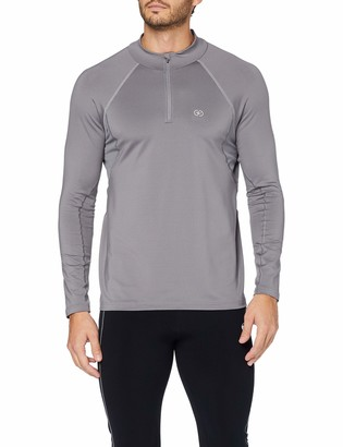 Damart Sport Men's T-Shirt Zippe Easy Body 3 Thermolactyl Thermal Top