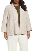Eileen Fisher Plus Size Women's Cotton Jacket