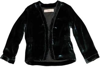 Cacharel Blue Velvet Jacket for Women
