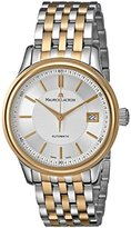 Maurice Lacroix Men's LC6027-PS103-131 Les Classiques Analog Display Swiss Automatic Silver Watch