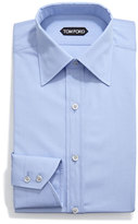 Tom Ford Classic Solid Dress Shirt, Light Blue