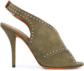 Givenchy open toe sandals - women - Leather/Suede - 35