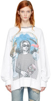 R 13 White Kurt Sweatshirt