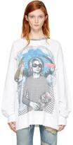 R 13 White Kurt Sweatshirt
