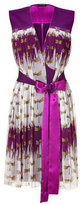 Sophie Theallet Deep Orchid Dragonfly Dress for STYLEBOP.com