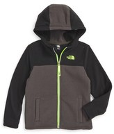 The North Face Toddler Boy's Lil' Grid Fleece Hoodie