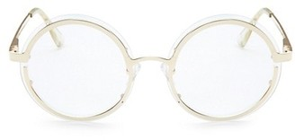 Le Specs Luxe Ovation Clear Circle Glasses