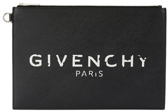 Givenchy Iconic medium clutch bag with logo