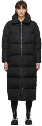Duvetica Black Down Long Chow Coat
