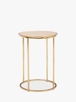John Lewis & Partners Melena Small Side Table, Blush