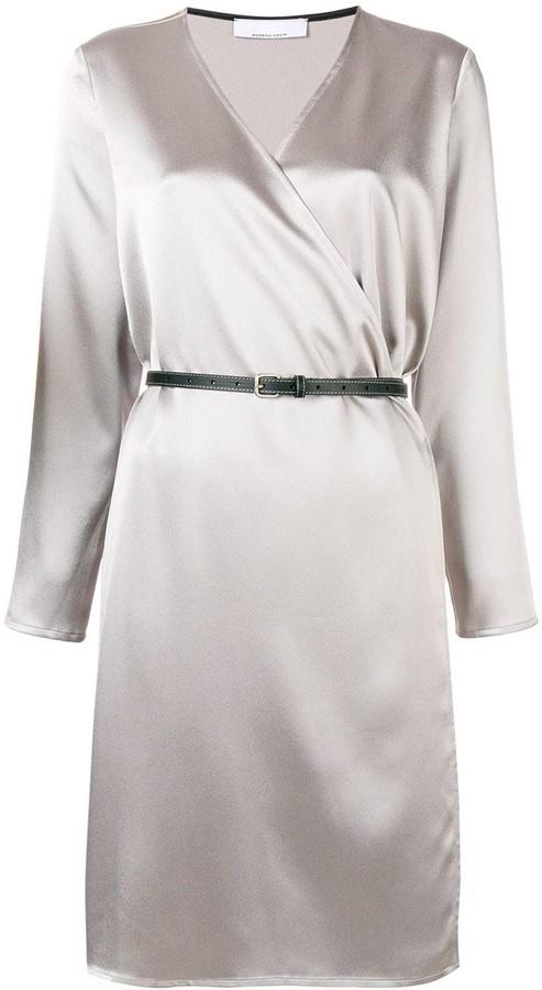 Jean Paul Gaultier Knott wrap belted dress
