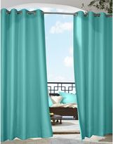 Commonwealth Home Fashions Gazebo Grommet Top Indoor/Outdoor Window Curtain Panel