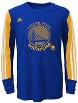 adidas Boys 4-7 Golden State Warriors Prestige climalite Tee
