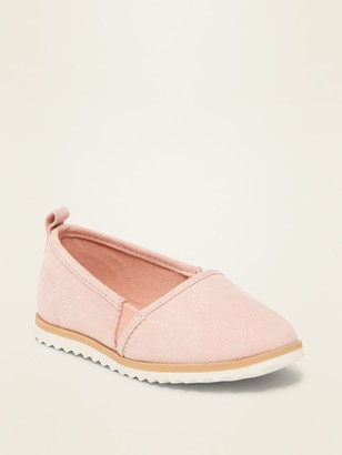 Old Navy Faux-Suede Loafers for Toddler Girls