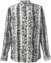 Saint Laurent printed long sleeve shirt