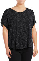 Calvin Klein Performance Plus T-Back Cut-Out T-Shirt
