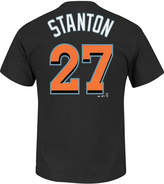 Majestic Men's Giancarlo Stanton Miami Marlins Official Player T-Shirt