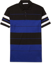 Givenchy - Cuban-fit Striped Cotton-piqué Polo Shirt
