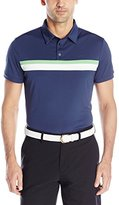 J. Lindeberg Men's Noah Slim-Fit Tx Jersey Golf Polo Shirt, White