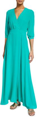 Hansine Athena Maxi Wrap Bohemian Dress
