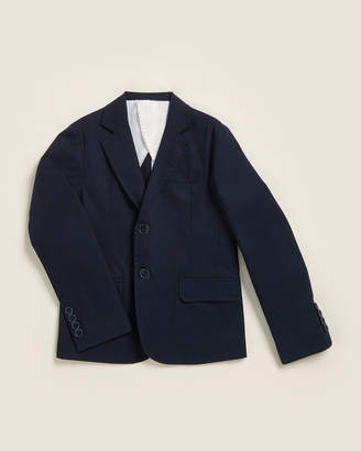 Manuell & Frank Boys 8-20) Solid Two-Button Jacket