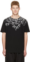 Marcelo Burlon County of Milan Black Leonardo T-shirt