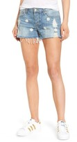 Rails Women's Jesse Embroidered Cutoff Denim Shorts