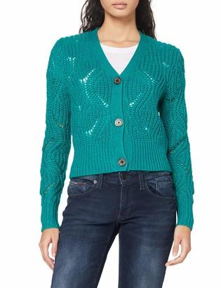 Tommy Jeans Women's TJW Pointelle Cardigan Sweater