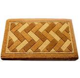 Asstd National Brand Geometric Rectangular Doormat