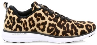 Athletic Propulsion Labs Women's Iconic Pro Leopard-Print Calf Hair Sneakers